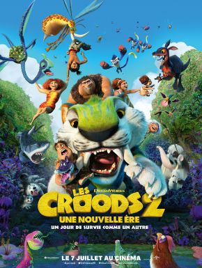 Achat DVD Les Croods 2