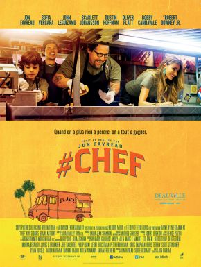Jaquette dvd #Chef