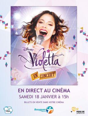 Violetta le concert en DVD et Blu-Ray