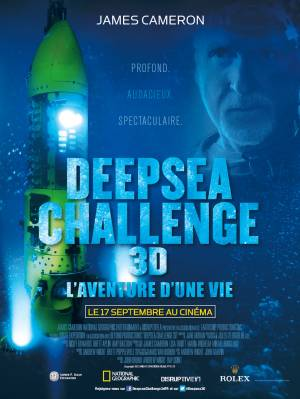 DVD Deepsea Challenge 3D, L'aventure D'une Vie