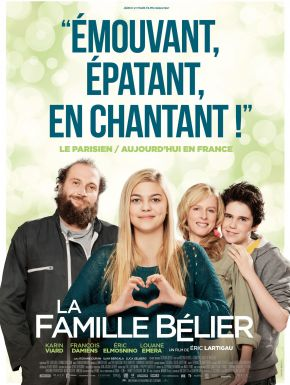 Jaquette dvd La Famille Bélier