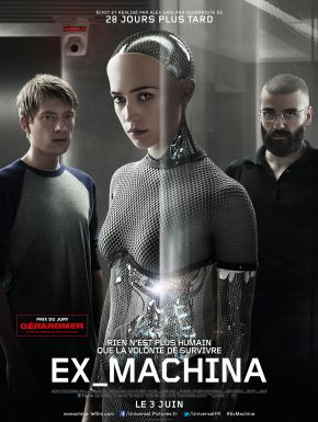 Ex Machina DVD et Blu-Ray