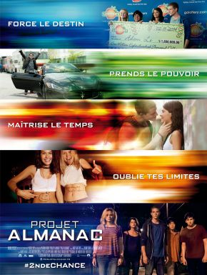 Projet Almanac DVD et Blu-Ray