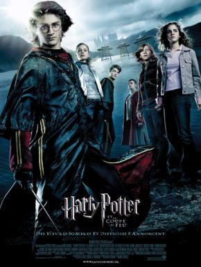 Jaquette dvd Harry Potter et la coupe de feu