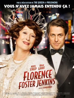 Jaquette dvd Florence Foster Jenkins