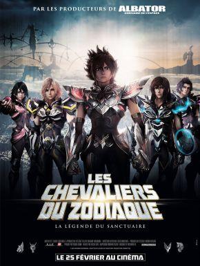 Jaquette dvd Les Chevaliers Du Zodiaque : La Légende Du Sanctuaire