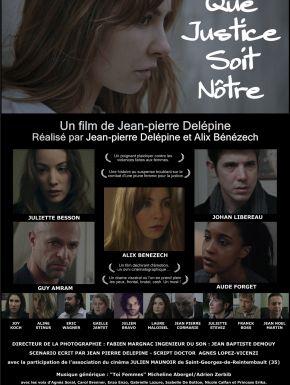 DVD Que Justice Soit Nôtre