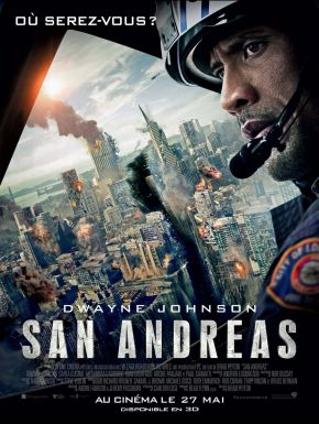 San Andreas DVD et Blu-Ray