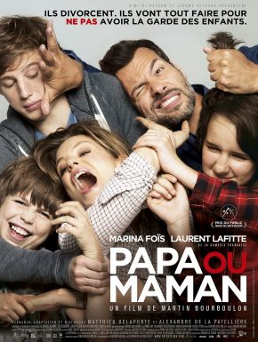 Jaquette dvd Papa Ou Maman