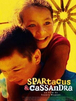 Jaquette dvd Spartacus & Cassandra