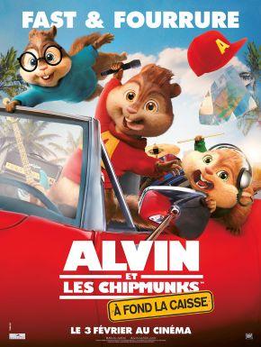 DVD Alvin Et Les Chipmunks : à Fond La Caisse