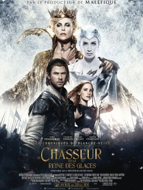 DVD Le Chasseur Et La Reine Des Glaces