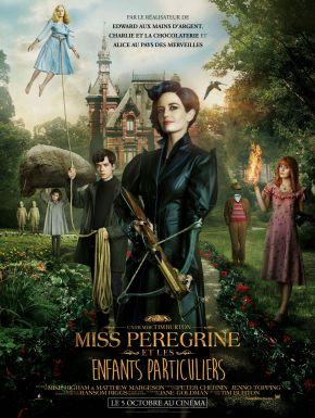 Jaquette dvd Miss Peregrine Et Les Enfants Particuliers