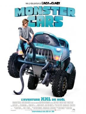 Jaquette dvd Monster Trucks