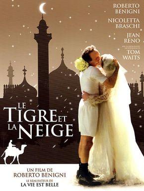 Jaquette dvd Le Tigre et la neige