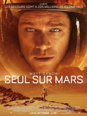 Sortie DVD Seul Sur Mars