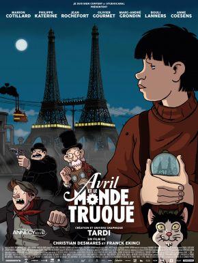 Sortie DVD Avril Et Le Monde Truqué