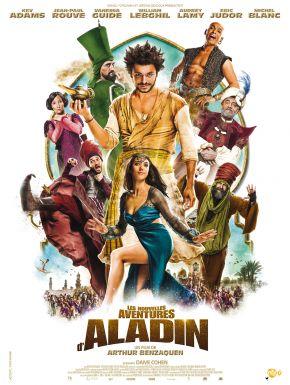 Jaquette dvd Les Nouvelles Aventures D'Aladin