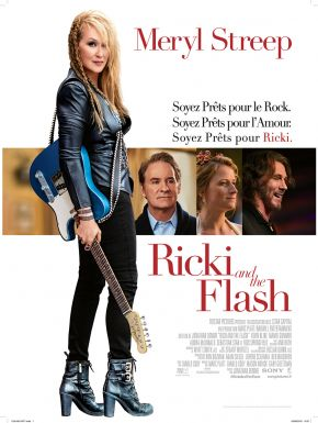 sortie dvd	  Ricki And The Flash