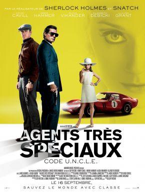 sortie dvd  Agents Très Spéciaux -  Code U.N.C.L.E