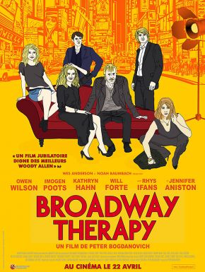 Jaquette dvd Broadway Therapy