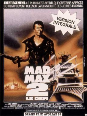 Mad Max 2 DVD et Blu-Ray