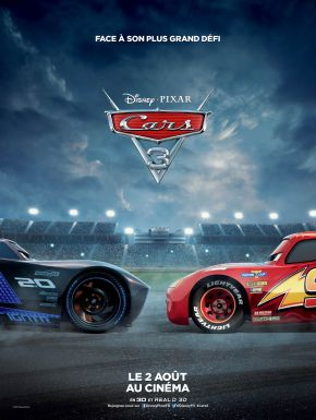 Jaquette dvd Cars 3