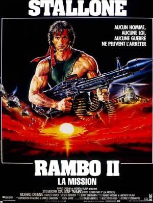 sortie dvd  Rambo II : La Mission