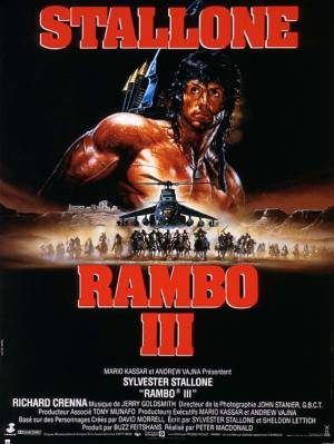 sortie dvd  Rambo III