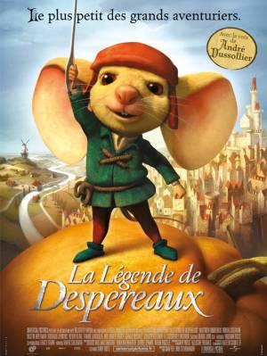 sortie dvd  La Légende De Despereaux