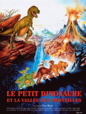 DVD Le Petit Dinosaure Et La Vallée Des Merveilles