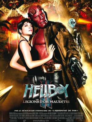 Hellboy II Les Légions D'or Maudites DVD et Blu-Ray