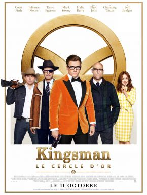 Kingsman: Le Cercle D'or DVD et Blu-Ray