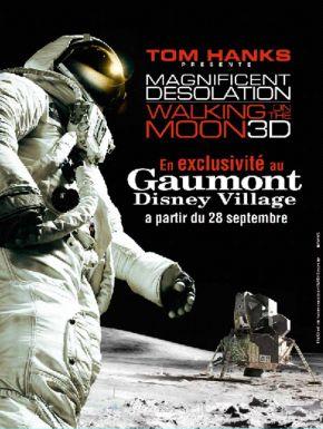 Jaquette dvd Magnifique Désolation : Marchons Sur La Lune