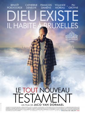 Jaquette dvd Le Tout Nouveau Testament