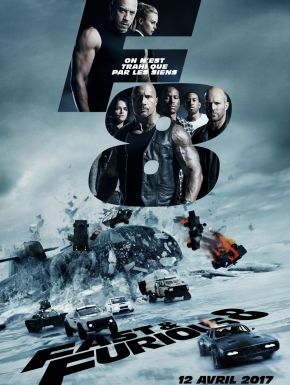 DVD Fast & Furious 8