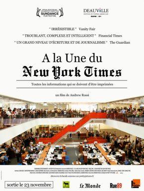 Jaquette dvd A La Une Du New York Times