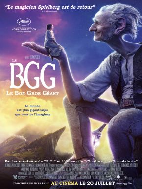 Jaquette dvd Le BGG - Le Bon Gros Géant