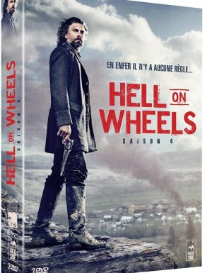 DVD Hell On Wheels : L'Enfer De L'Ouest Saison 4