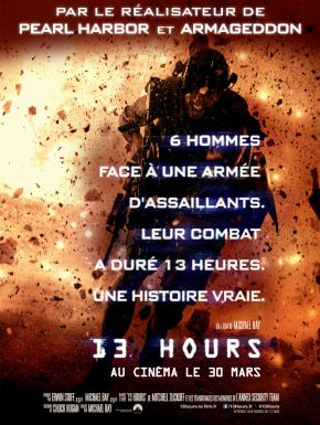 13 Hours DVD et Blu-Ray