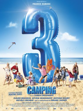Jaquette dvd Camping 3