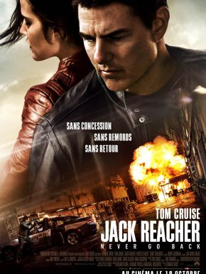 Jack Reacher: Never Go Back DVD et Blu-Ray