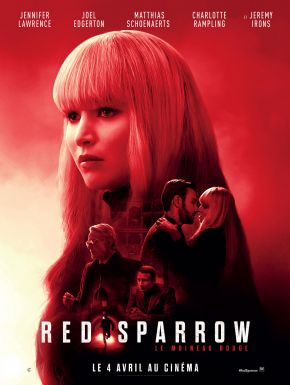 Red Sparrow DVD et Blu-Ray