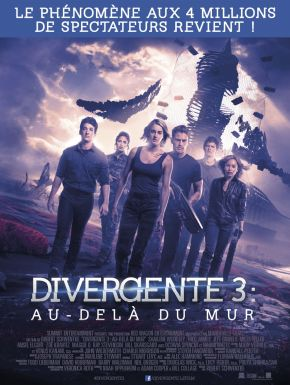 Divergente 3 : Au-delà Du Mur DVD et Blu-Ray