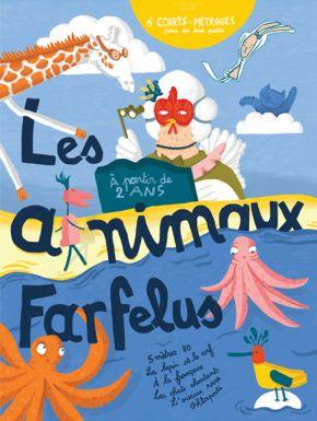 DVD Les Animaux Farfelus
