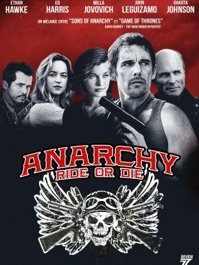 Anarchy DVD et Blu-Ray