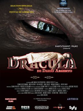 Sortie DVD Dracula 3D