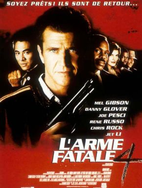 DVD L'Arme Fatale 4