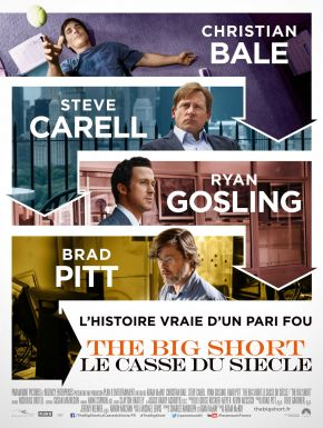 The Big Short : Le Casse Du Siècle DVD et Blu-Ray