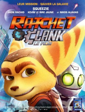 Jaquette dvd Ratchet & Clank : Le Film